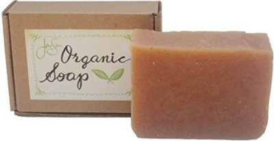 JenSan Home and Body Rose Petals Natural Organic Soap with Shea Butter and Essential Oils