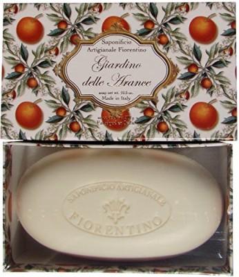 Saponificio Artigianale Fiorentino Giardino Delle Arance Orange Garden Boxed Soap
