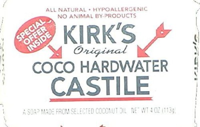 KeHe Distributors KIRKS 23047 KIRKS SOAP BAR COCONUT OIL - Case of 48