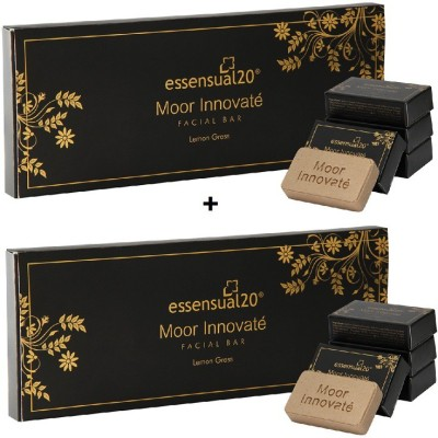 Essensual Moor Innovate Facial Bar 100g x 2pack