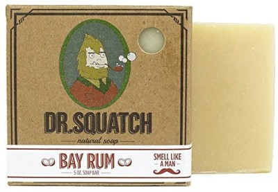 Dr. Squatch Bay Rum - Island Fresh Bar Soap for Men
