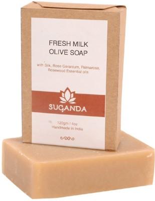 Suganda Fresh Milk Olive Soap