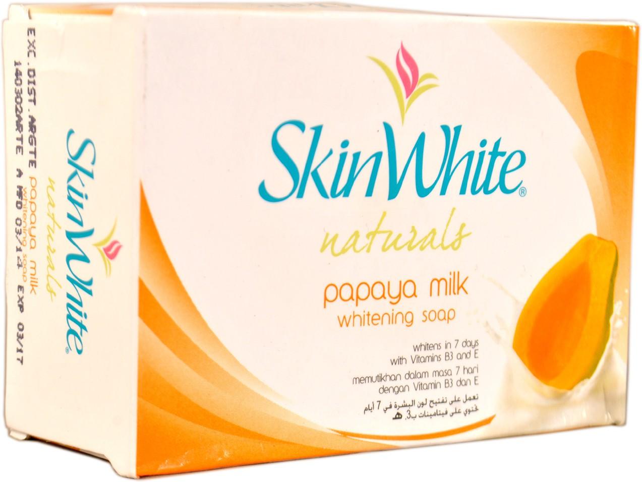 Skin White Naturals Papaya Milk Whitening Soap /Skin ...