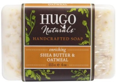 Hugo Naturals Bar Soap Shea Butter and Oatmeal