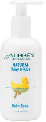 Aubrey Organics Natural Baby and Kids Bath Soap