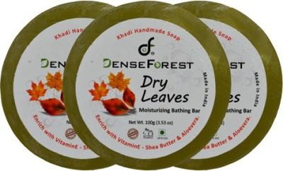 Dense Forest Dry Leaves Khadi Soap