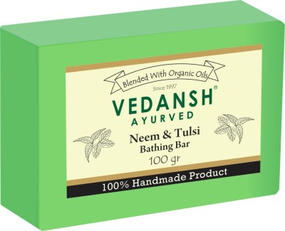 Vedansh Neem & Tulsi Bathing Bar