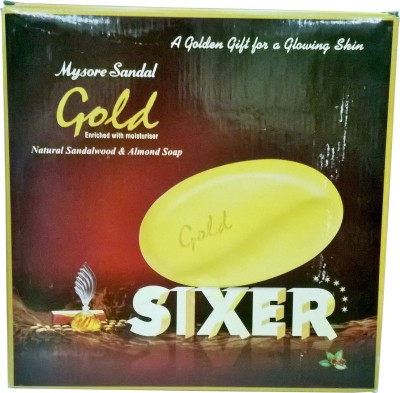 Mysore Sandal Gold Soap - Pack of 6