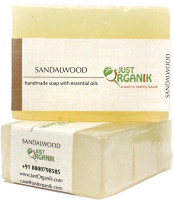 Just Organik Sandalwood Bath Soap