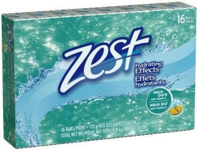 Zest Aqua Bar Soaps - 16 Bars