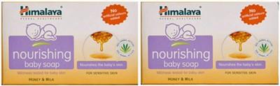 Himalaya Baby Nourishing Soap-125g (Pack Of -2)