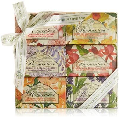 Nesti Dante Romantica Floral 6 Soap Gift Set