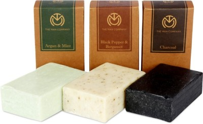 The Man Company 3 Soap Bar (Combo) - Three Musketeers