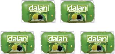 Dalan Combo of Pure Olive Oil Glycerine Soap - (5 X 100 gms) - Total 500 gms.