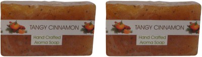 Spaanand Hand Crafted Tangy Cinnamon Premium Soap(200 g)