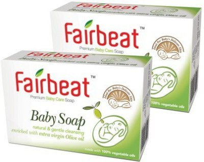 Fairbeat Baby Soap- Enriched With Extra Virgin Olive Oil
