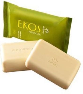 Natura Ekos Brazilian Passion Fruit Hydrating Bar Soap 3 Bar/ Ekos Maracuj� Sabonete Hidratante Em Barra 3