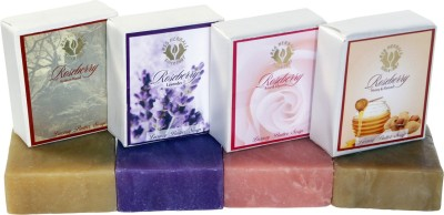 Roseberry Luxury Butter Soap - Set of 4