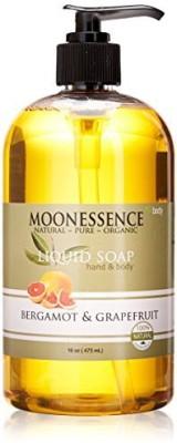 MoonEssence Moonessence Bergamot and Bath and Body Liquid Soap Grapefruit
