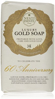 Nesti Dante Limited Edition 60th Anniversary Luxury Gold Leaf Soap