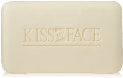 Kiss My Face Pure Coconut Milk Soap Bar with Coconut Oil 3 Pack