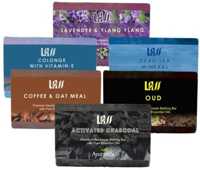 Lass Naturals Soaps For Men,S