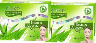 Kudos Neem & Aloevera Soap X2
