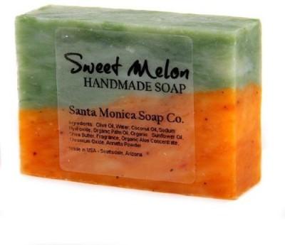 Santa Monica Soap Co. Handmade Soap - Sweet Melon with Aloe