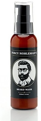 Percy Nobleman Beard Wash A Natural 71% Organic Soap/ Shampoo & Conditioner for Men