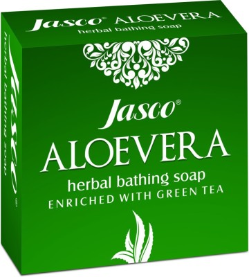 Jasco Aloe Vera Soap with Green Tea
