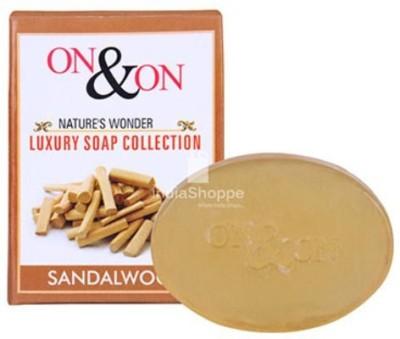 ON & ON Luxury Sandalwood Soap