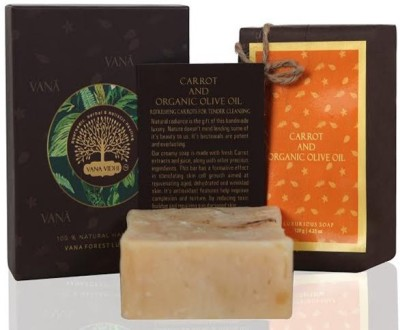 VANA VIDHI Carrot and Organic Olive Cleanser