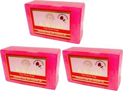 Khadi Herbal NaturalPure Rose soap