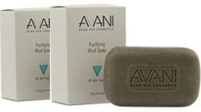 Avani Dead Sea Purifying Mud Soap 2 Pack
