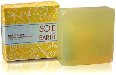Soil & Earth Neroli Lime Handmade Soap