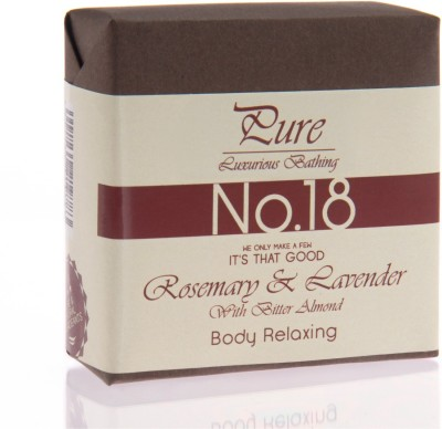 Pure Luxurious Bathing Rosemary & Lavender Mint Body Relaxing Soap Bar