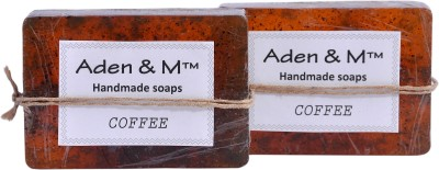 Aden & M Coffee Soap - Pack of 2