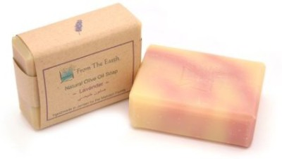 From The Earth Natural Olive Oil Soap - Lavender Essential Oil - Fair Trade & Handmade