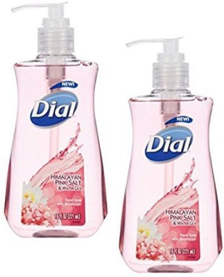 Dial Liquid Soap Himalayan Pink Salt & Water Lily (2 Bottles)