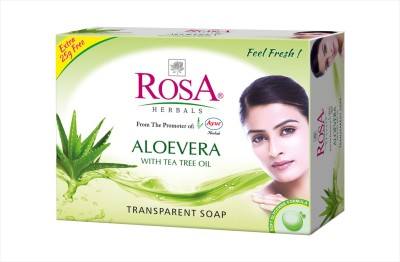 Rosa Herbals Aloevera Soap ( Set of 4 pcs )