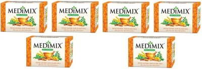Medimix Sandal and Eladi Oils (Pack Of 6)