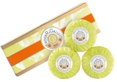 Roger & Gallet Roger and Gallet 13840765503 Fleur d Osmanthus Perfumed Soap Coffret - 3