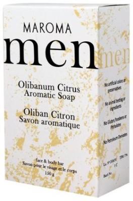 Maroma Olibanum Citrus Men`s Soap soap bar