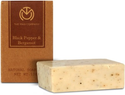 The Man Company Blackpepper & Bergamot Soap Bar
