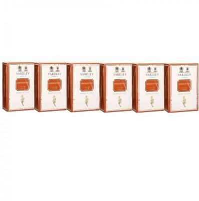 Yardley London Sandalwood Luxury Soap - Pack of 6(600 g)