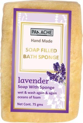 PANACHE Soap Filled Bath Sponge Lavender