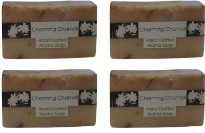 Spaanand Hand Crafted Chaming Chameli Soap