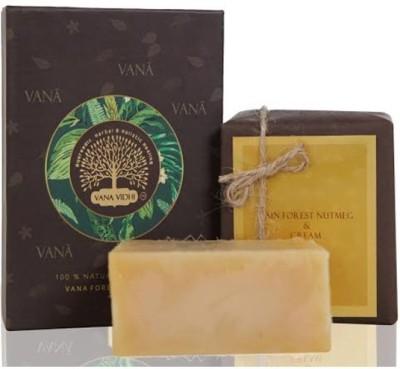 VANA VIDHI Rain Forest Nutmeg & Cream Soap