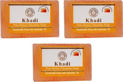Khadi Herbal NaturalPure Honey Glycerine Soap Pack Of 3