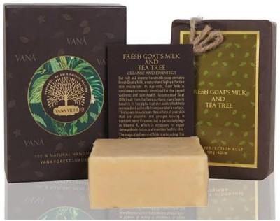 VANA VIDHI Goat's Milk & Tea Tree Luxurious Soap